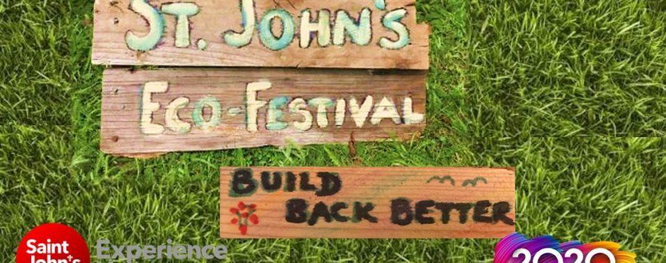 Eco-Festival Sign